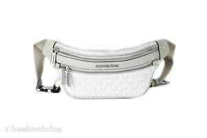 Michael Kors Kenly Small Signature Belt Waist Fanny Pack Crossbody Bag
