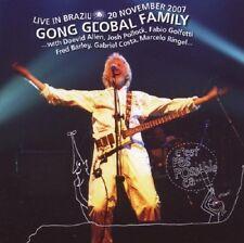 Gong Global Family Live In Brazil 20th November 2007 CD NEW SEALED Daevid Allen