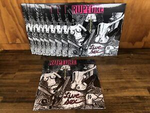 Bulk Lot Punk Records Coloured Vinyl LPs Rupture Grindcore Power Violence