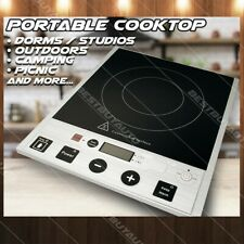 NEW Portable Electric Induction Cooktop Countertop Hot Plate Cooker Temp Control