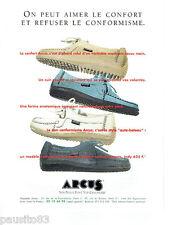 PUBLICITE ADVERTISING 125  1996  ARCUS  chaussures mocassins