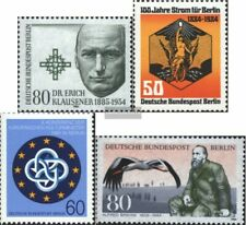 Berlin (West) 719,720,721,722 (kompl.Ausg.) gestempelt 1984 Klausener, Strom, Ku
