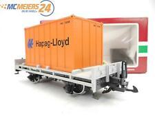 E122 LGB Spur G 42030 Güterwagen Containerwagen Hapag Lloyd