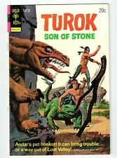 Gold Key TUROK SON OF STONE #89 - FN- March 1974 vintage comic