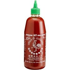 Sriracha Red Rooster Hot Chili Sauce 28oz HuyFong Foods In Stock Ready to ship