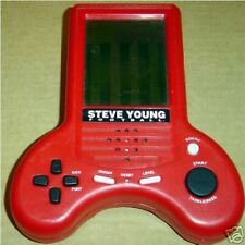 MGA ELECTRONIC STEVE YOUNG FOOTBALL HANDHELD LCD GAME TRAVEL FOOT BALL TOY LCD