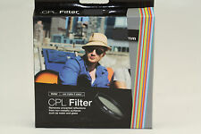 Vivitar CPL 49 49mm CPL Filter Circular Polarize For Sony NEX NEX3 NEX5 NEX7 NEW