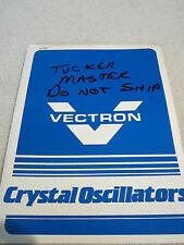 Manuale Vectron Fs-321a-1 Quarzo Frequenza Standard Oscillatore
