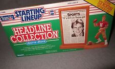 New In Box Starting Line Up Headline Collection Joe Montana*
