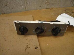 Temperature Control Front 4 Door Sport Trac Fits 01-02 EXPLORER 83406