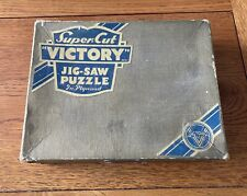 "VINTAGE Super-cut ""VICTORY"" JIG-SAW PUZZLE In Plywood. ""News Of The Regiment"""