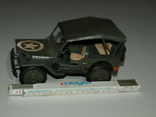 Blechspielzeug US-Jeep Spielzeug US-Militär  Antikspielzeug Auto US-Marine Trump