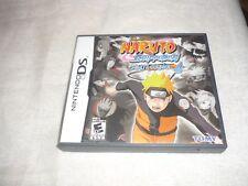 Naruto Shippuden: Ninja Council 4 (Nintendo DS, 2009)  NTSC COMPLETE