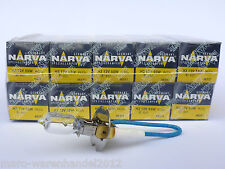 (2,30 €/unité) 10x Narva ® 12v h3 55w socle pk22s standard Halogène Lampes 48321