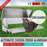 Mangiatoia A Pedale Chicken Treadle Feeder Per Polli Galline 5kg