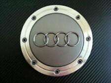 4x 148mm AUDI Wheel Centre Caps Hub Cover Gray 4B0601165A