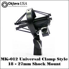 Oktava MK-012 Universal Clamp Style Shock Mount - Fits all Mics 18 - 27mm - New!