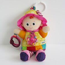 "Lamaze My Friend Emily activity doll comforter baby soft toy plush clip 12"" Tomy"