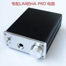 Aluminum Chassi for LJM HA-PRO Amplifier Board Kits Headphones Preamp Box