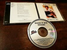 Wham! / George Michael - Make it Big Japan Press No Barcode Cd Perfetto