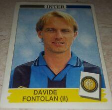 FIGURINA CALCIATORI PANINI 1994/95 INTER FONTOLAN ALBUM 1995