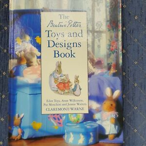 The Beatrix Potter, Toys and Desivns Book, good condition, cross stitch, rug etc