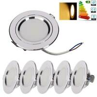 8x 9W LED Recessed Ceiling Downlight Spotlight Lamp Light Energy Saving Warm