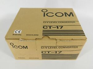 Icom CT-17 Ham Radio CI-V Level Converter (new and genuine)
