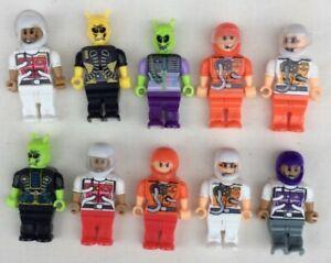 10 Space Hero Figures - Blocks