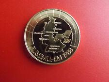* Fußball EM 1988 * Münze/Medaille  Vergoldet /ca.40mm(Schub93)