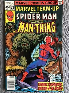 Marvel Team-Up #68 (Marvel, April 1978) NM- (9.2) & Man-Thing