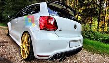 SPOILER SUL LUNOTTO POSTERIORE VW POLO 6R 2009+ LOOK WRC NON ADATTO PER GTI