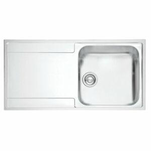Franke Maris Slim Top Inset Kitchen Sink Stainless Steel 1 Bowl 1000 x 510mm