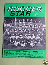 SOCCER STAR - UK FOOTBALL MAGAZINE - 2 NOV 1963 - COVER PIC - NORTHAMPTON TOWN