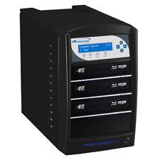 SharkBlu 1-3 Blu-Ray DVD CD Duplicator 500GB HDD USB Pioneer Burner BD-PIO-3-BK