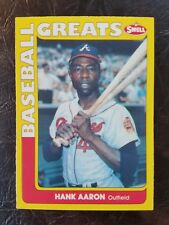 1990 Swell Baseball Greats #102 HANK AARON (NM-MT) Atlanta Braves HOF! FREE SHIP