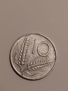 Rara Moneta da 10 lire del 1955