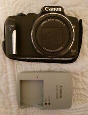 Canon PowerShot SX170 IS 16.0MP Digital Camera - Black