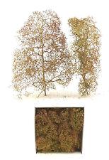 Jordan H0: 25 Bäume, Naturbäume (Seegras), 10-15 cm (JO 4D) - NEU