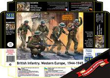 Master Box 3585 British Infantry. Western Europe, 1944-1945 (5 figures) 1/35