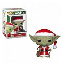 Figura Funko pop Star Wars 277 Holiday Santa Yoda