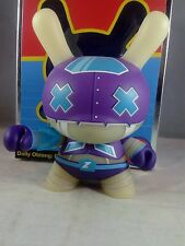Kidrobot Five Inch Dunny #2 Dairobo-Z  Purple GID Variant Dolly Oblong Limit 250