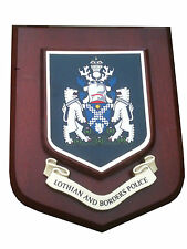 Lothian and Border Police Service Wall Plaque UK Made for MOD