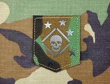 Infrared Marine Raiders M81 Patch Woodland MARSOC USMC Marine Corps Semper Fi