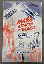 vintage FLASH GORDON in MARS ATTACKS THE WORLD original movie press book bg