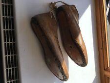 Pair Of Old/Vintage Wooden Shoe Lasts