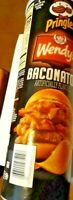 Pringles Wendy's Baconator Limited Edition Potato Chips w/Code for Baconator!!!