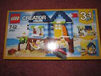 LEGO CREATOR BEACHSIDE VACATION 31063 - NEW/BOXED/SEALED