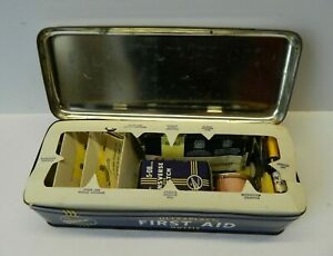 Vintage Ultraplast First Aid Outfit Special Pack Tin & Contents