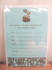 NEW Hallmark Mr. & Mrs. 8 Wedding Shower Invitations & Envelopes